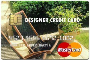 designer fake credit card