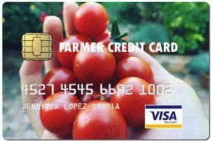farmer fake credit card