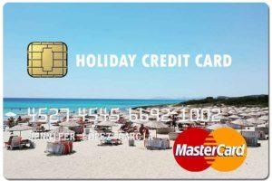 holiday fake credit card