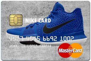 nike fake credit card