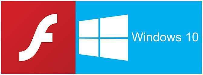 Adobe Flash Player for Windows 10
